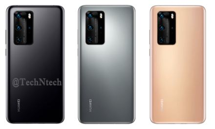 Huawei P40 & P40 Pro Colors options revealed