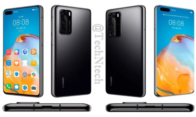 Huawei P40 Pro 5G First Look Renders & Overview