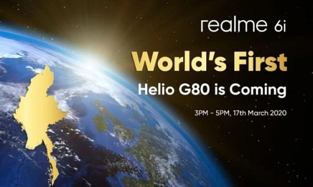 Realme 6i processor & battery, charging speed reveals