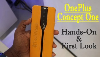 OnePlus Concept One phone hands-on review