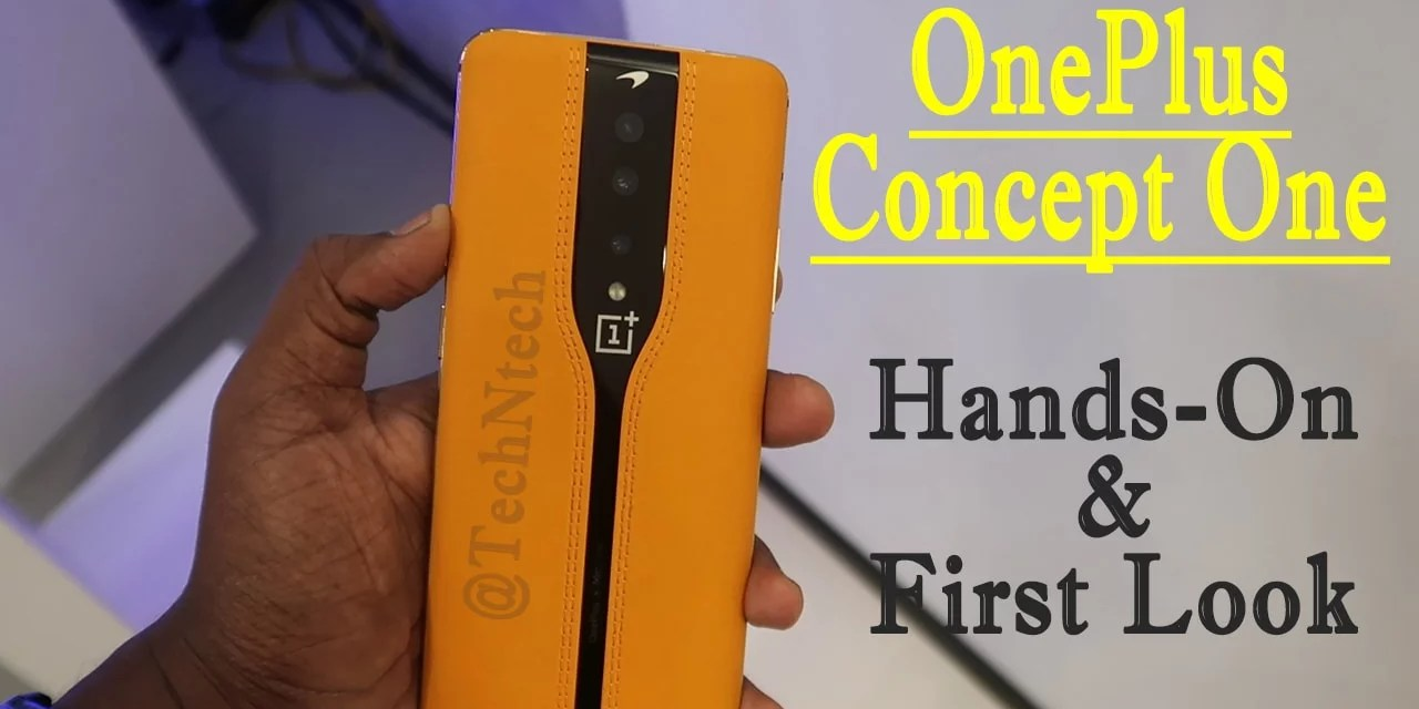 OnePlus Concept One hands-on First Look with ND8 Filter Camera Samples