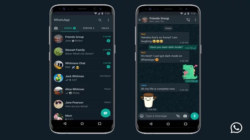 How to Enable WhatsApp Darkmode in Android & iOS (Live for all users)