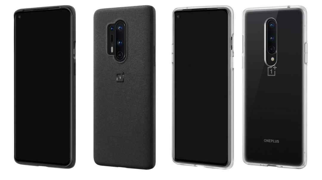 OnePlus 8 series protective case design & colors renders first look received. OnePlus 8 Pro & OnePlus 8 phone available in 4 cases in Black, Purple, Cyan colors