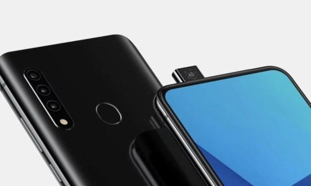 Samsung First Pop-up camera phone renders design