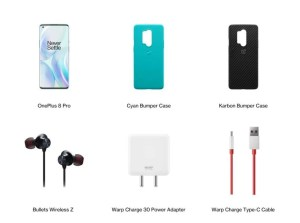 oneplus 8 series pop up box contains
