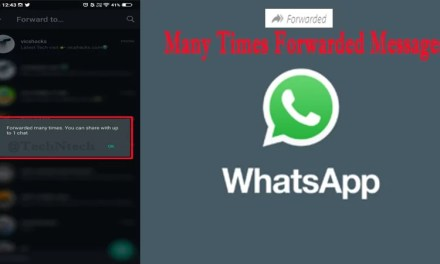 WhatsApp Instant Update: Limits on Many Times Forwarded tagged Messages