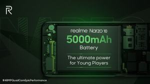 Realme Narzo 10 & Realme Narzo 10a Reverse Charging Feature
