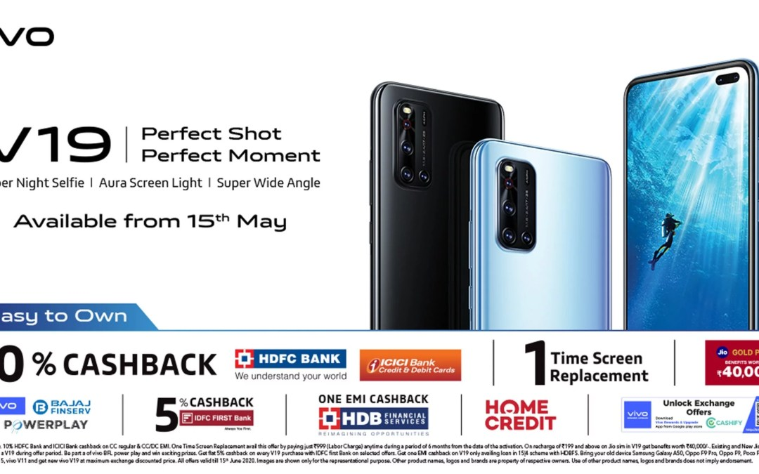 Vivo V19 Launched in India – Here its Price details:-