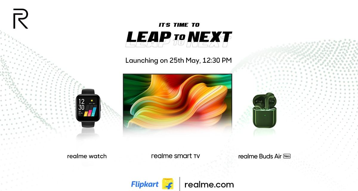 List of Realme IOT Products launching today
