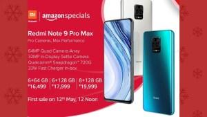 Redmi Note 9 pro max sale date