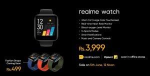 Realme SmartWatch Price