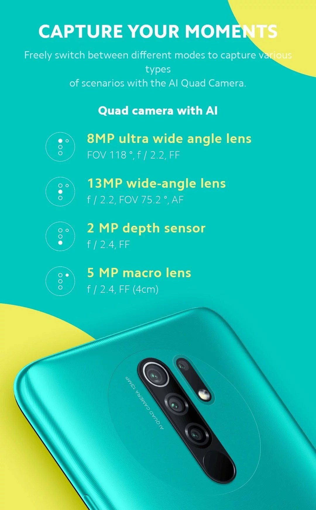 Redmi 9 launch in India maybe happened on 6th August and the official news regarding this revealed in August month start. Redmi 9 specs & features come with