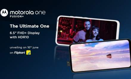 Motorola One Fusion Plus launch in India on 16th June