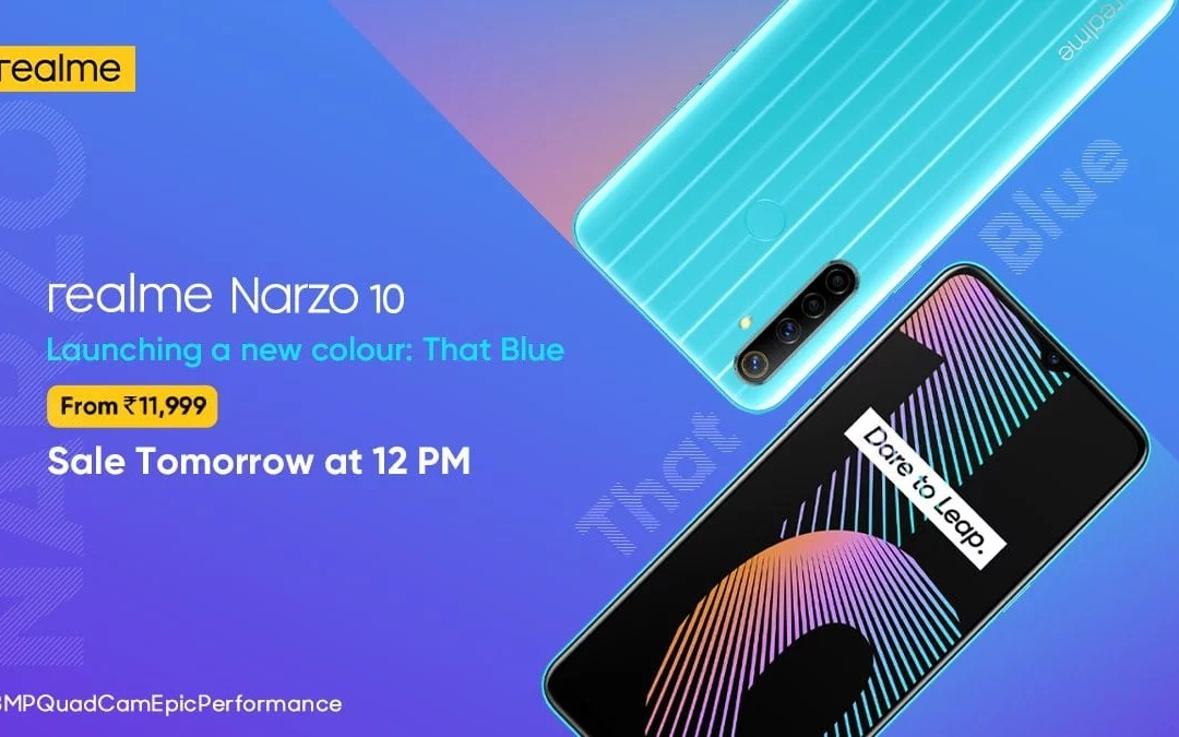 Realme Narzo 10 new colour variant introduced