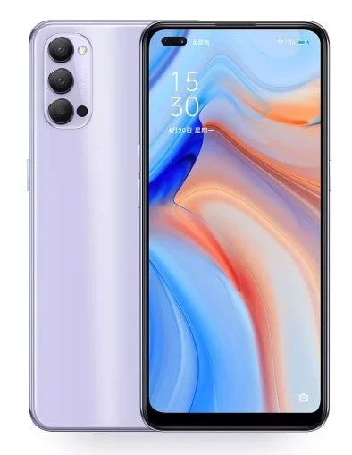 Oppo Reno 4 specifications come with 6.4-inch super AMOLED display, 48MP Triple camera, 32MP + 2MP selfie, Snapdragon 765G processor, 4020mAH battery, 65W fast