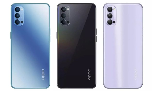 Oppo Reno 4 Specifications – SDM 765G, 4020mAH, 65W Charging, 6.4-inch AMOLED display