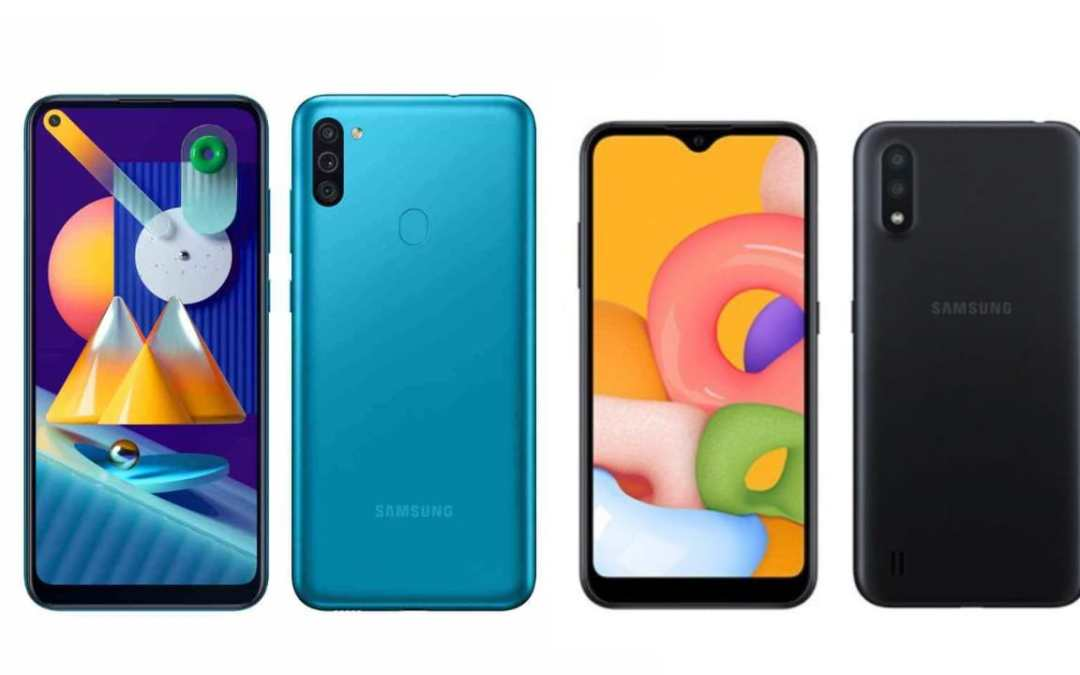 Samsung Galaxy M11 & M01 Price & Sale