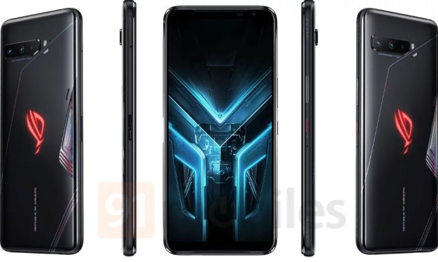 ASUS ROG Phone 3 First look render images & some Specs details