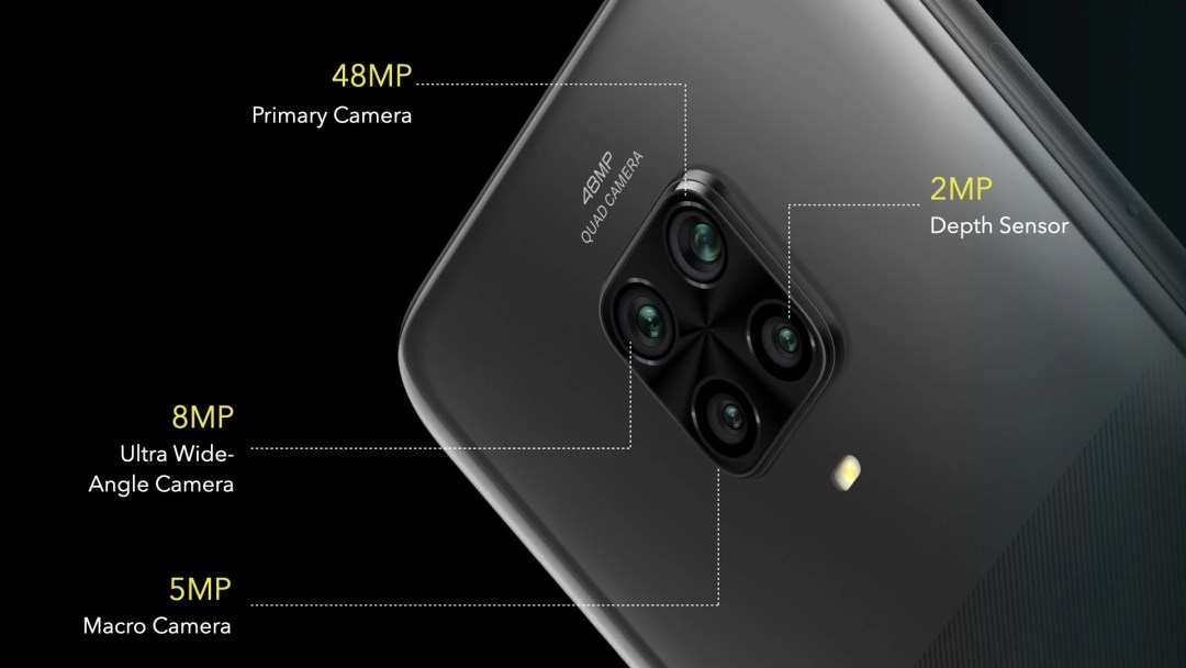 poco m2 pro camera specifications