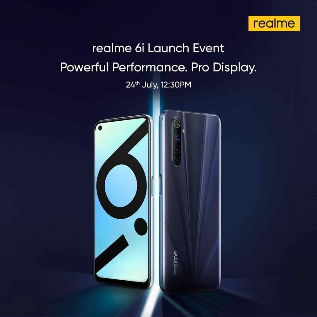 realme 6i lainch in India