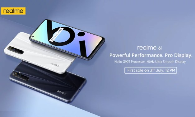 Realme 6i launched in India – Here its Price & Specs