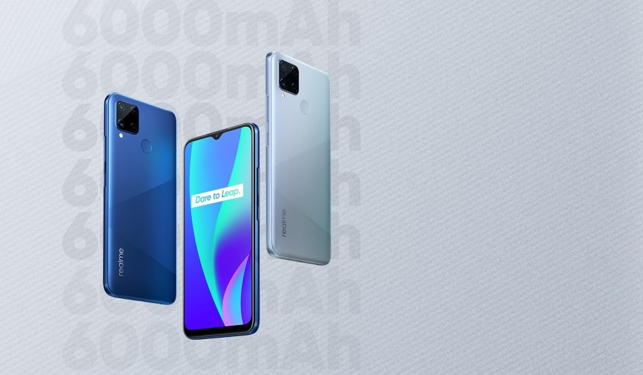 Realme launch 6000mAH battery on Realme C15 Smartphone