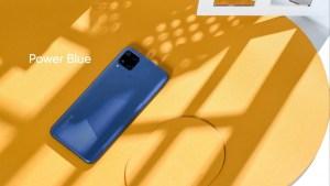 Realme C12 & Realme C15 Power Blue Color Variant