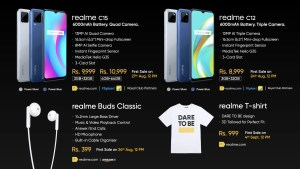 realme products launched today in India