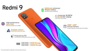 redmi 9 launch, price, specs