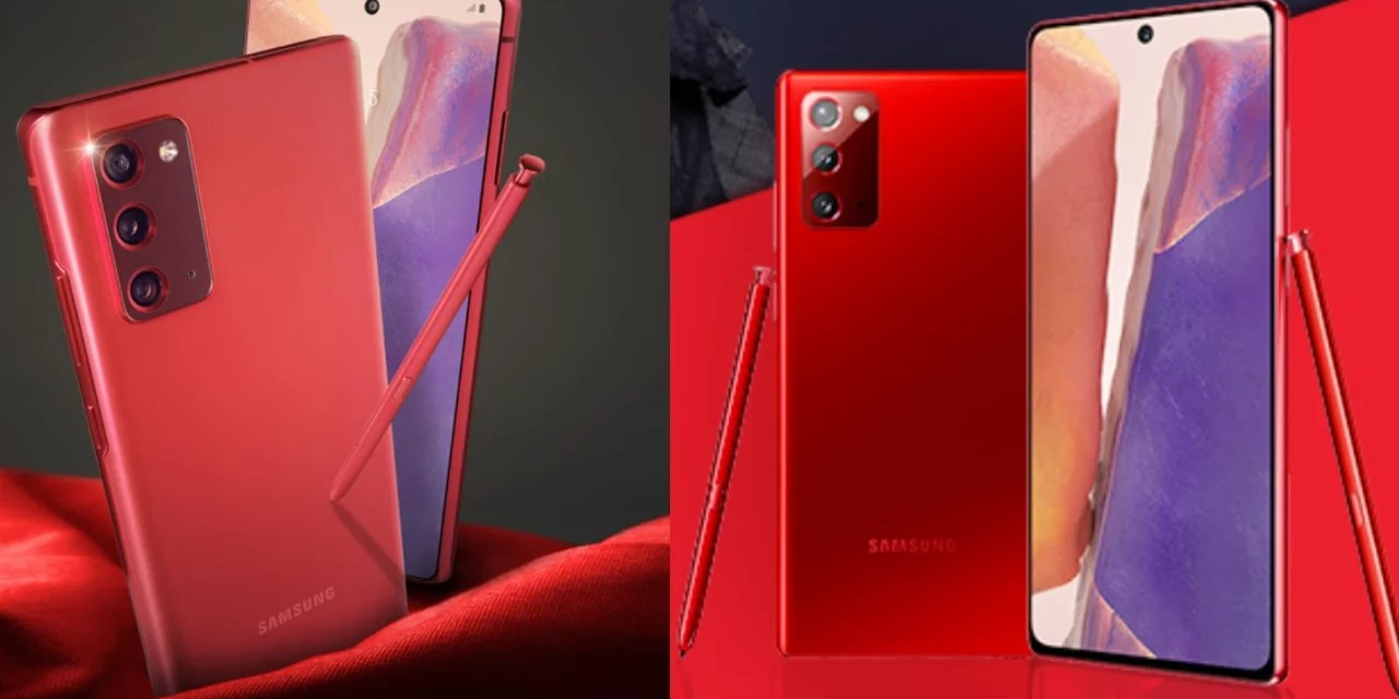 Samsung Galaxy Note 20 Mystic Red color will launch soon