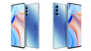 oppo reno 4 pro galactic blue color variant