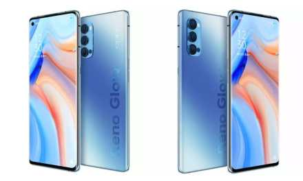 Oppo Reno 4 Pro Galactic Blue colour variant will launch soon in India