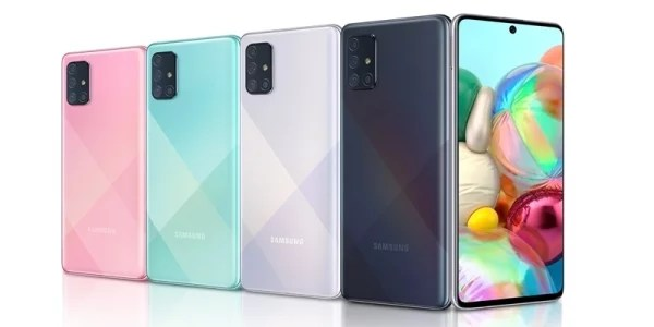 Samsung first time equips Penta Cameras to Galaxy A72 Smartphone