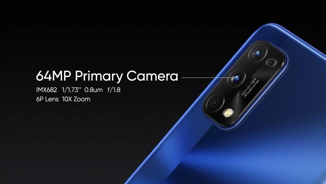 realme 7 series with Sony IMX682 camera sensor