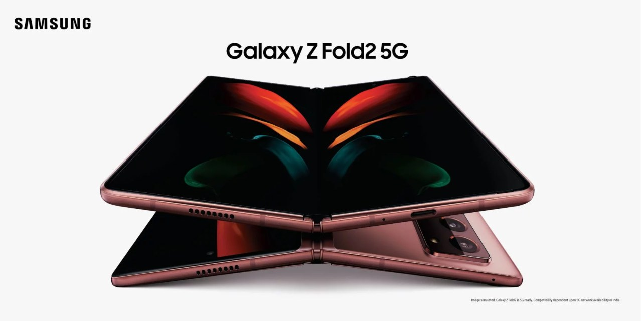 Samsung Galaxy Z Fold 2 Price & Pre-booking announced
