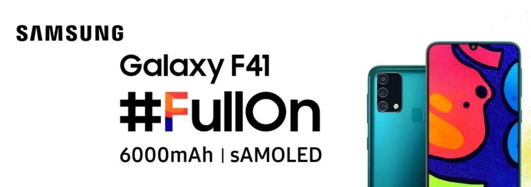 samsung galaxy f41 launch, specs