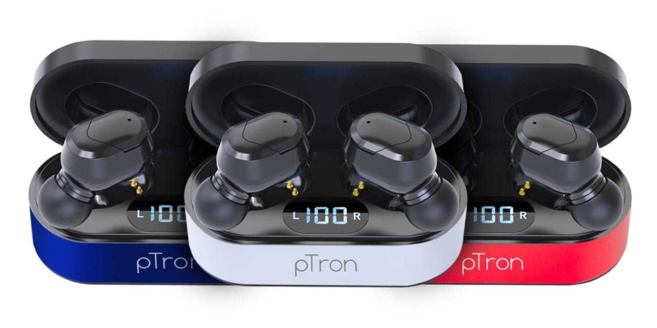 pTron Bassbuds Plus Bluetooth Earbud launching on 25th September