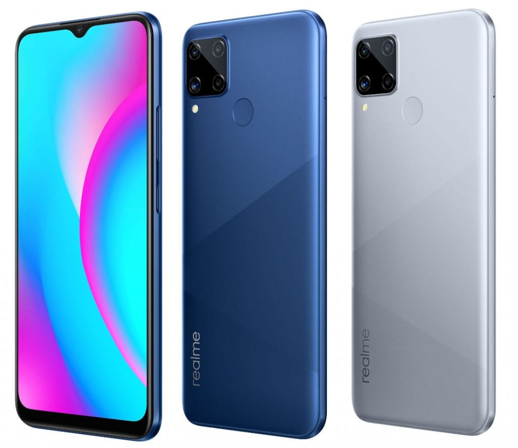 Realme C15 Qualcomm Edition smartphone was launched on 28th October 2020. The phone comes with a 6.50-inch touchscreen display with ... Starting from ₹9,499.00