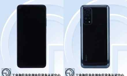 Redmi K30S 5G with model no. M2007J3SC Full Specifications Appear Through TENAA Listing