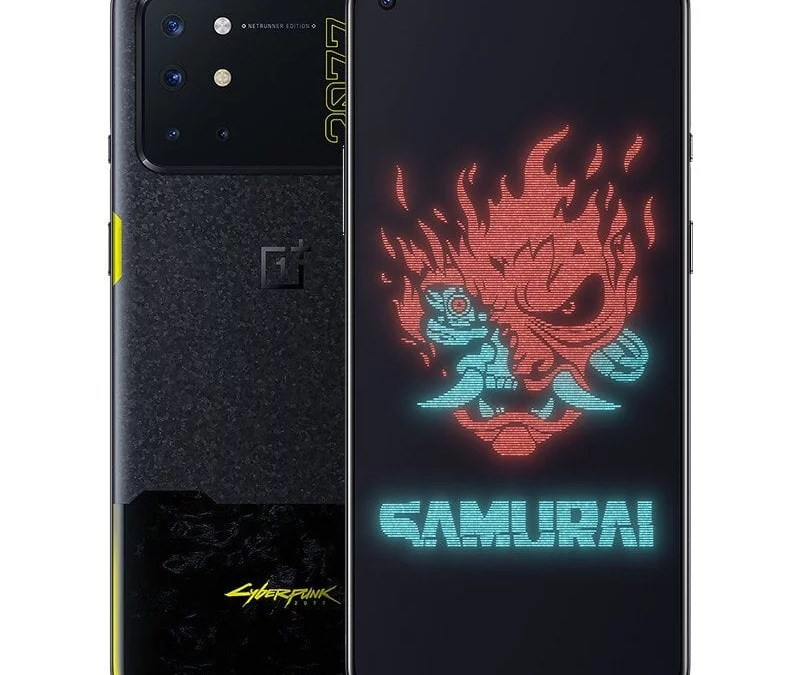 OnePlus 8T Cyberpunk 2077 Limited Edition smartphone announced in China