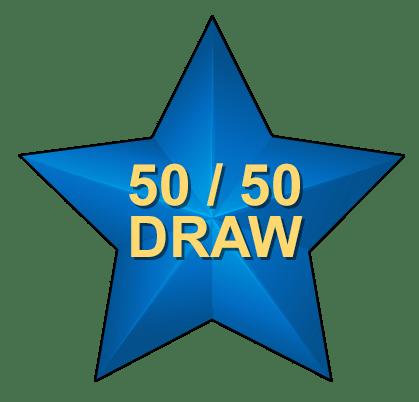 50/50 Draw