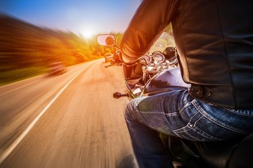 Biker, Lane Split, Law, California
