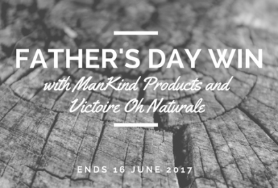 Victoire Oh Naturale ManKind giveaway