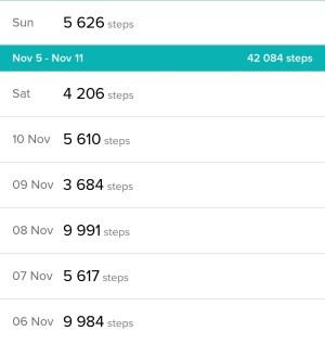 Belly fat challenge - steps