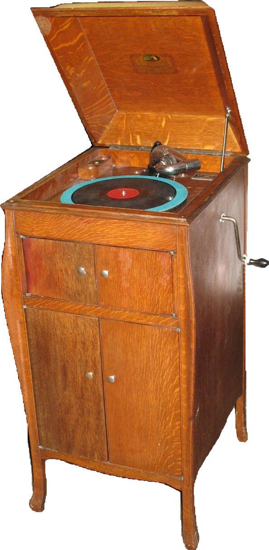 Antique Victrola Cabinet