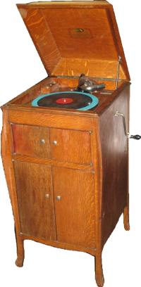 Antique Victrola Cabinet