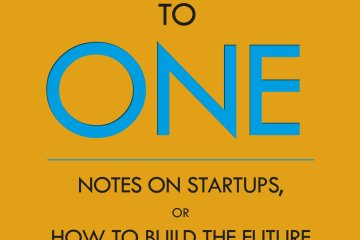 zero to one peter theil notes on startups