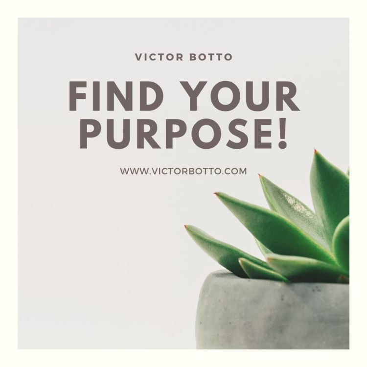 FIND YOUR PURPOSE - VICTOR BOTTO