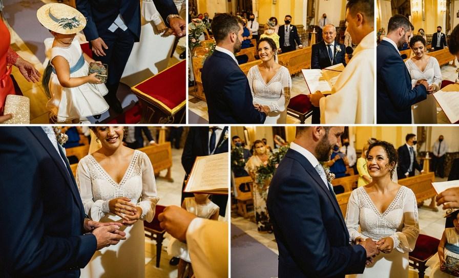 fotografía de boda en la iglesia de torrevieja
