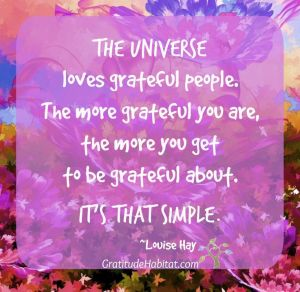 universe quotes, inspirational quotes, louise hay, gratitude quotes